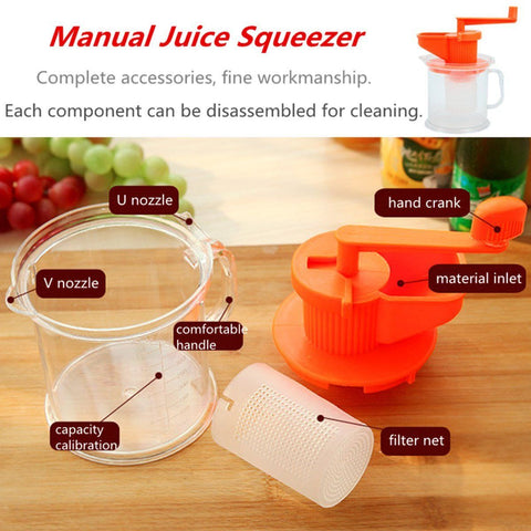 Awesome Multifunctional Fruit Juicer and Squeezer