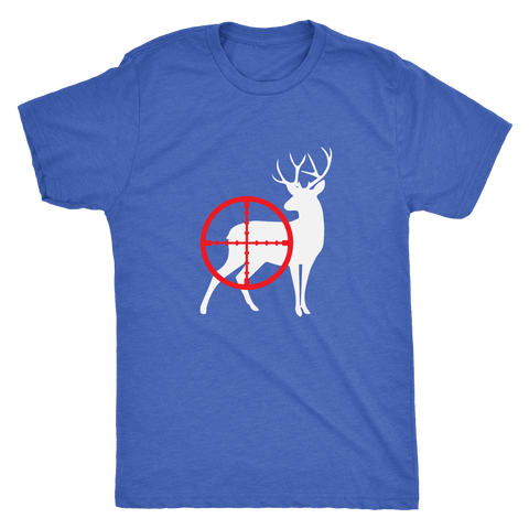 Crosshair Deer - Triblend