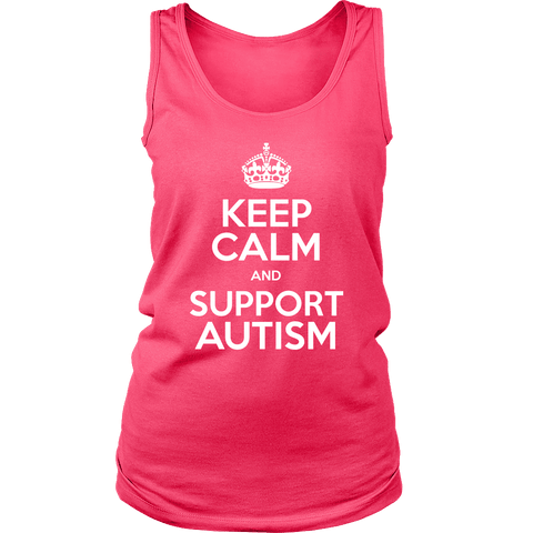 Keep Calm and Support Autism