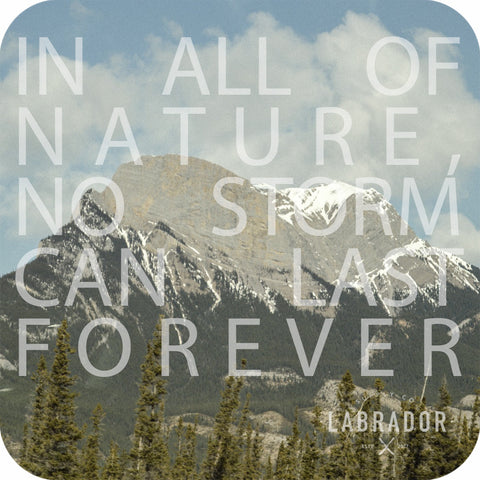 "Labrador Supply Co. Instagram photo -- ""In all of nature, no storm can last forever"" (The Tao)"