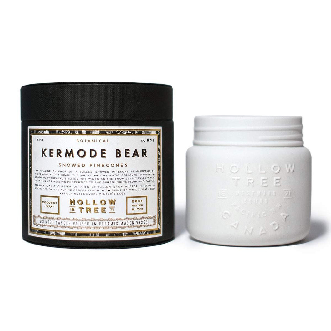 Kermode Bear - Coconut Wax Candle | Hollow Tree - Labrador Supply Co.