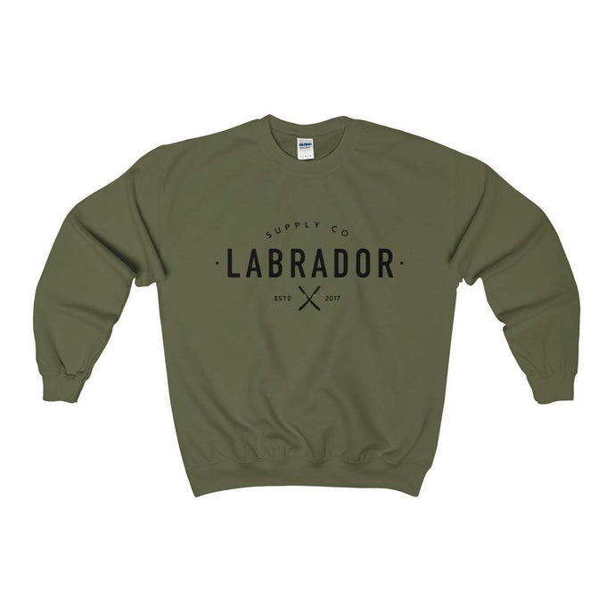 Labrador Supply Co. | Crewneck Sweatshirt (Large Logo)