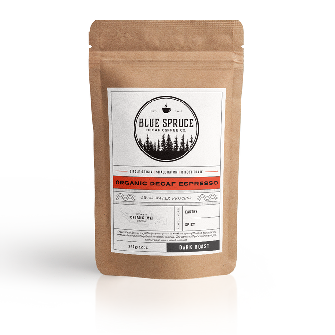 Organic Swiss Water Decaf Espresso - Dark Roast - Labrador Supply Co.