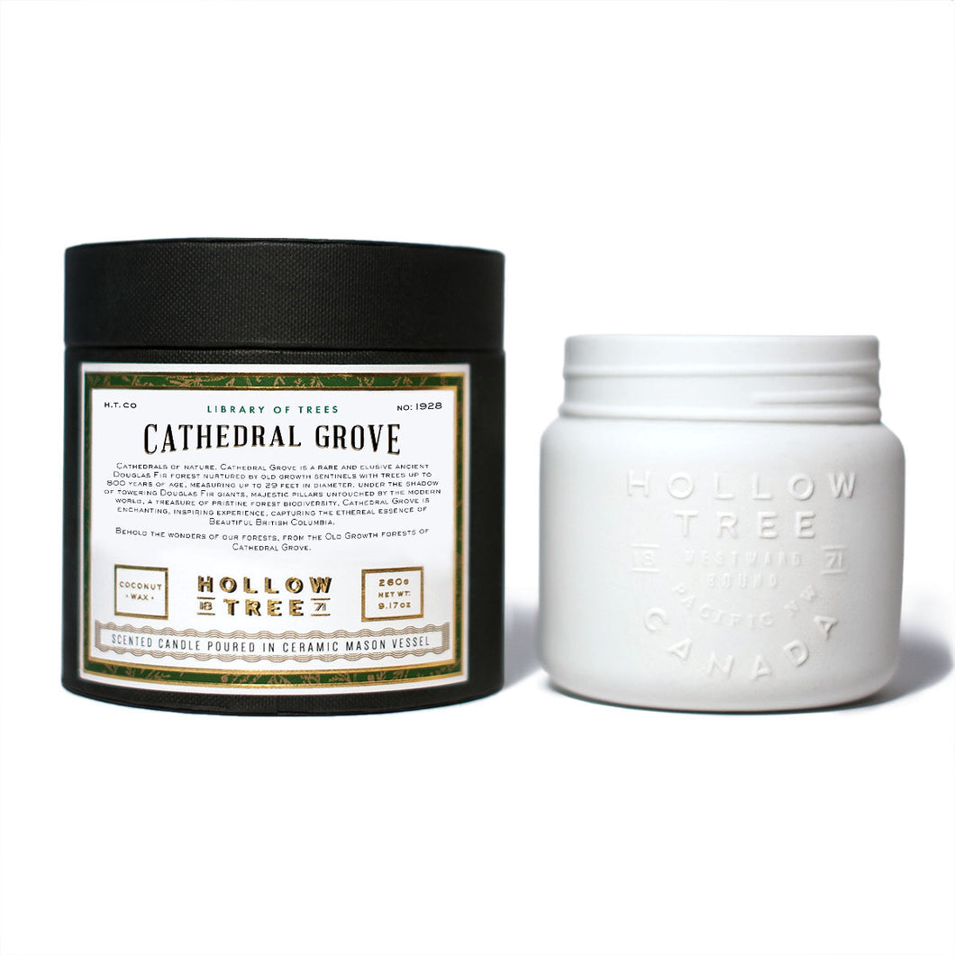 Cathedral Grove - Coconut Wax Candle | Hollow Tree - Labrador Supply Co.