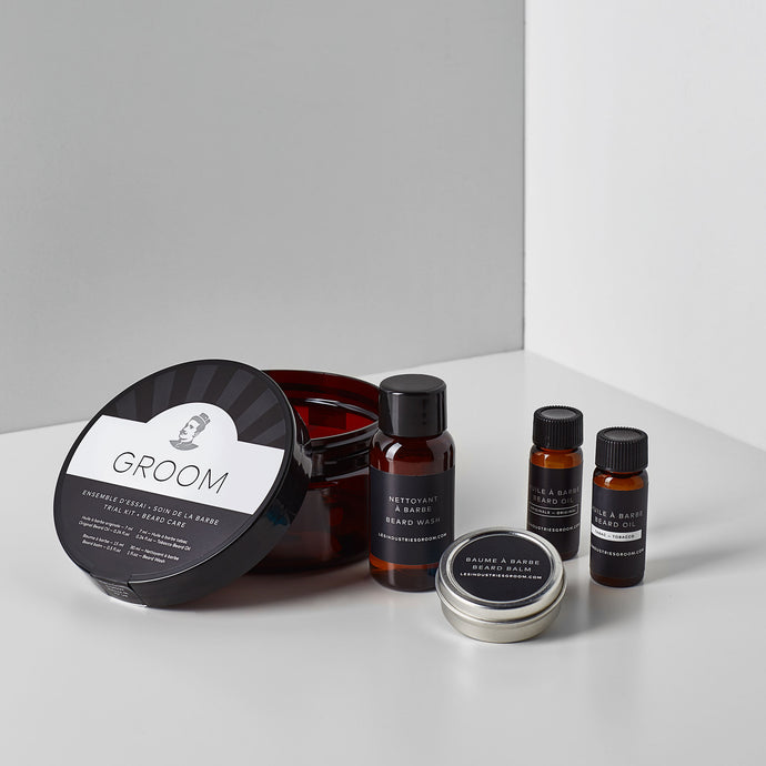 Beard Care Trial Kit | Les Industries Groom - Labrador Supply Co.