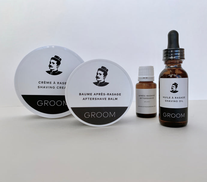 Shaving Care Set | Les Industries Groom - Labrador Supply Co.
