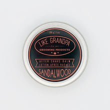 Sandalwood Scent Aftershave Balm | Like Grandpa Grooming Products - Labrador Supply Co.