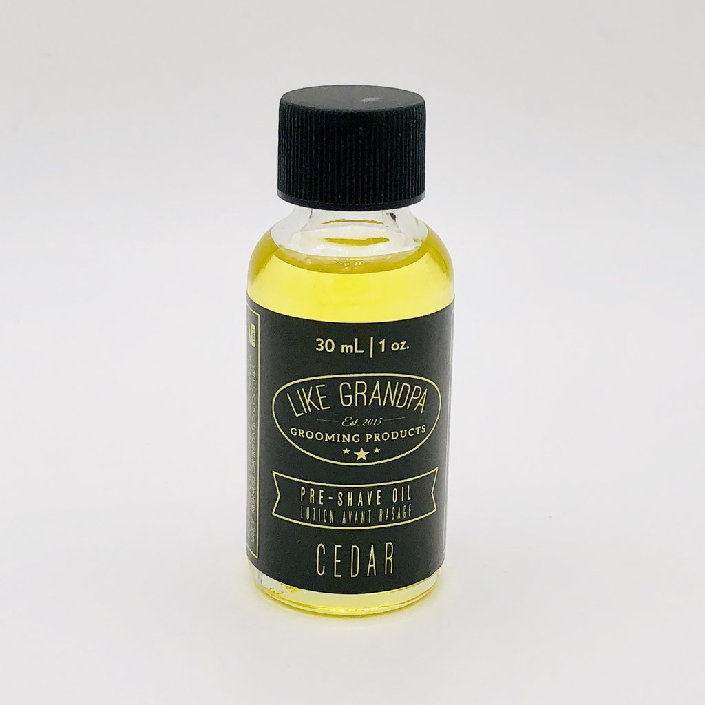 Cedar Scent Pre-Shave Oil | Like Grandpa Grooming Products - Labrador Supply Co.
