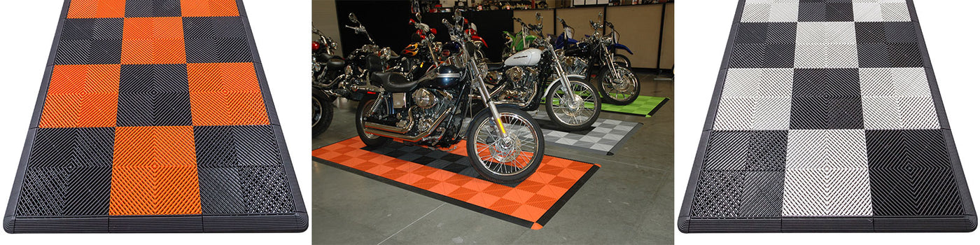 Motorcycle Parking Pads