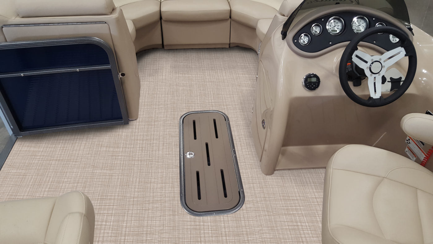 Simplicity: Sea Breeze Pontoon Flooring Collection