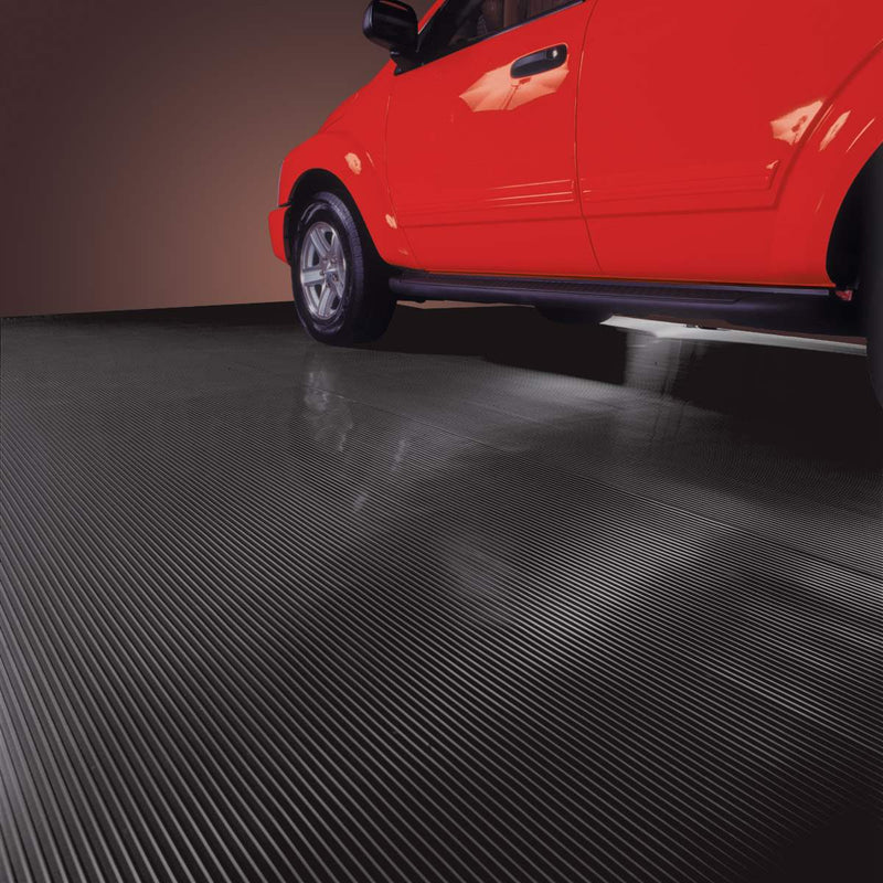 Garage Floor Cover - Ribbed