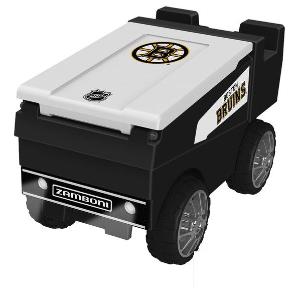 Boston Bruins Remote Control NHL Zamboni Cooler