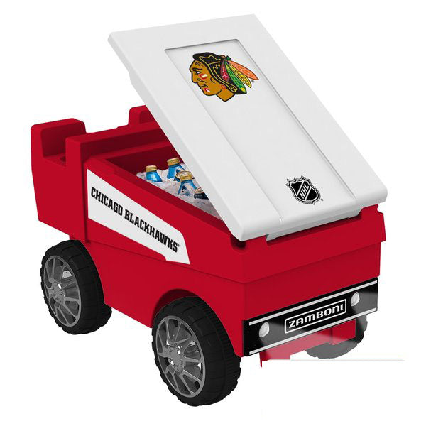 Chicago Blackhawks RC NHL Zamboni Cooler