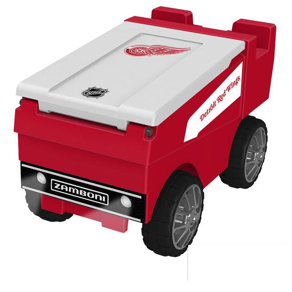 Detroit Redwings Remote Control NHL Zamboni Cooler