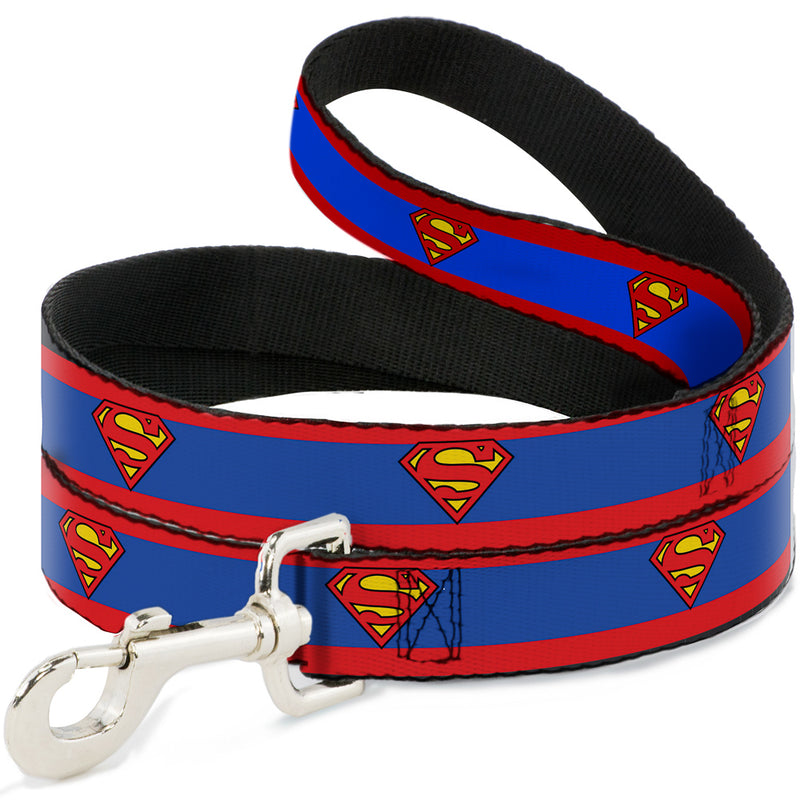"Superman Shield/Stripe Red/Blue, 1"" - 4 Foot"