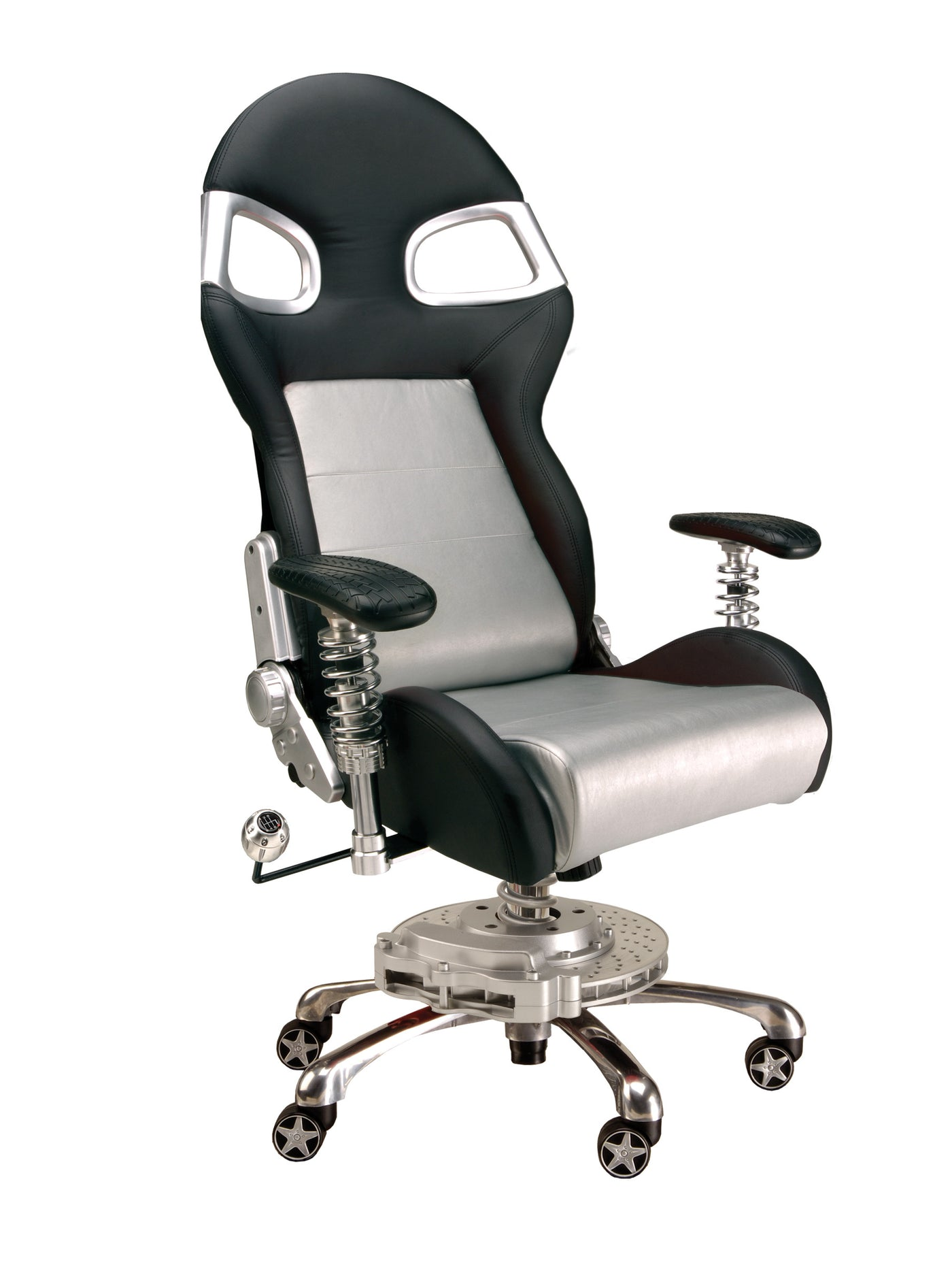 PitStop LXE Office Chair SILVER