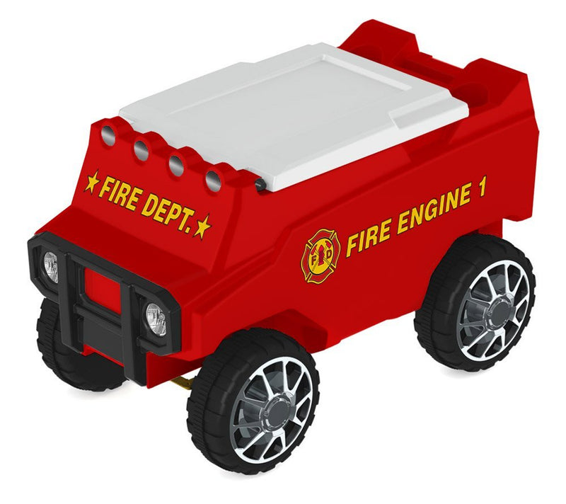 Fire Truck Remote Control Rover Cooler