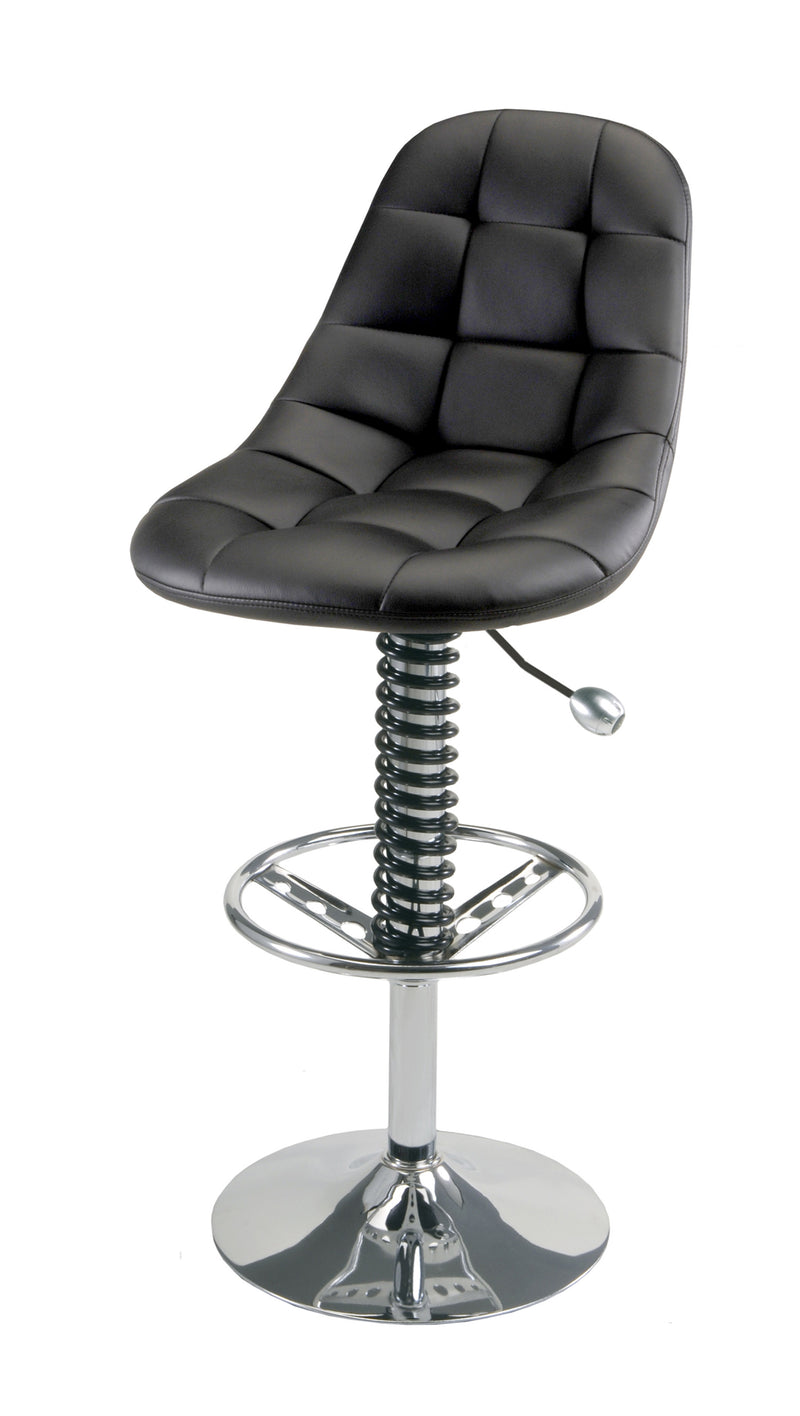 PitStop Pit Crew Bar Chair BLACK