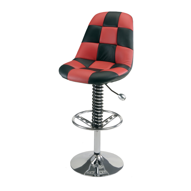 PitStop Pit Crew Bar Chair RED