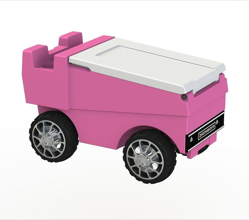 Remote Control Zamboni Cooler - Hot Pink