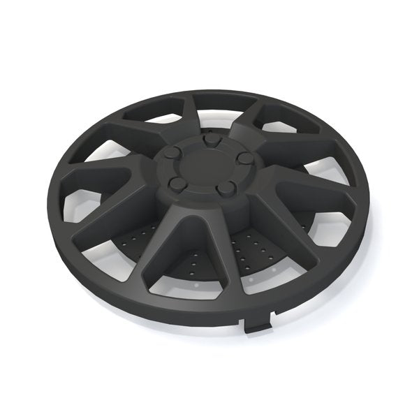 Hubcap Set - Black