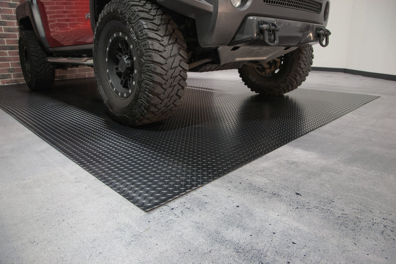 Garage Floor Cover - Diamond Tread