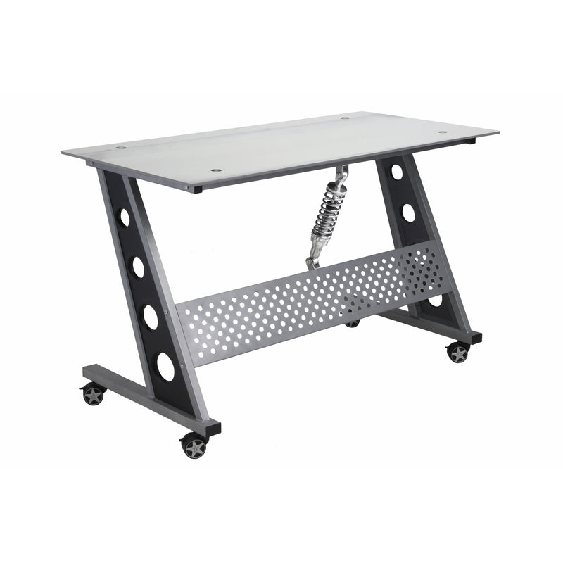 PitStop Compact Desk CLEAR