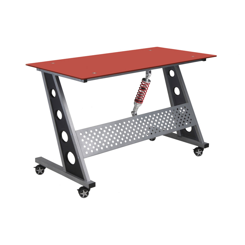 PitStop Compact Desk RED