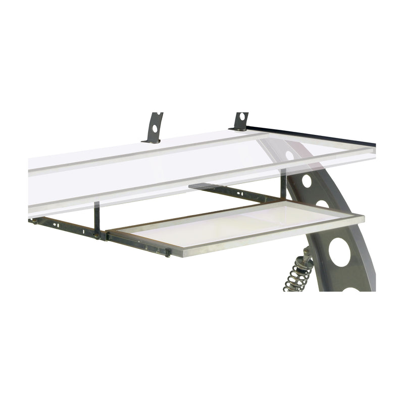 PitStop GT Spoiler Desk Pull Out Tray CLEAR