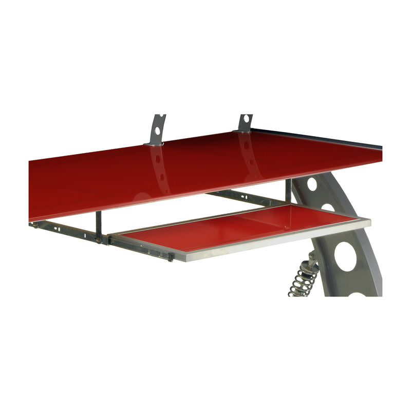 PitStop GT Spoiler Desk Pull Out Tray RED