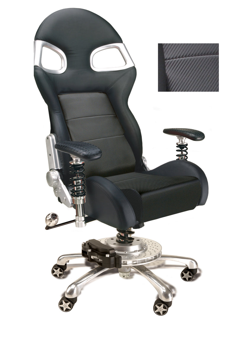 PitStop LXE Office Chair CARBON FIBER STYLE