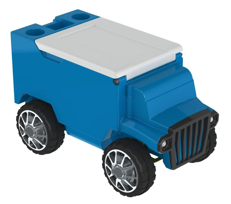 Remote Control Truck Cooler - Light Blue