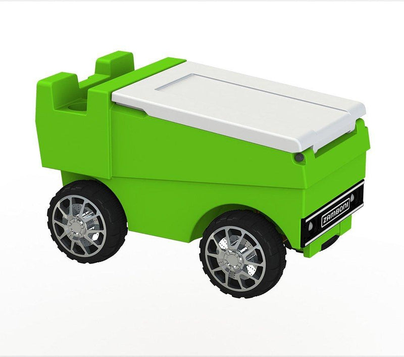 Remote Control Zamboni Cooler - Lime Green