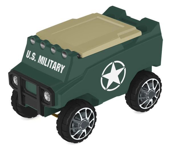 Military Remote Control Rover Cooler