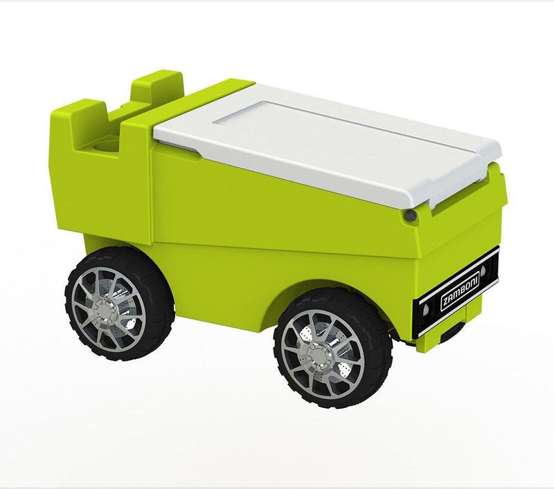 Remote Control Zamboni Cooler - Neon Yellow