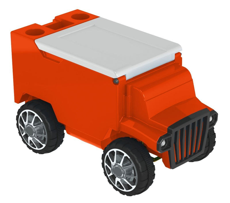 RC Truck Cooler - Orange