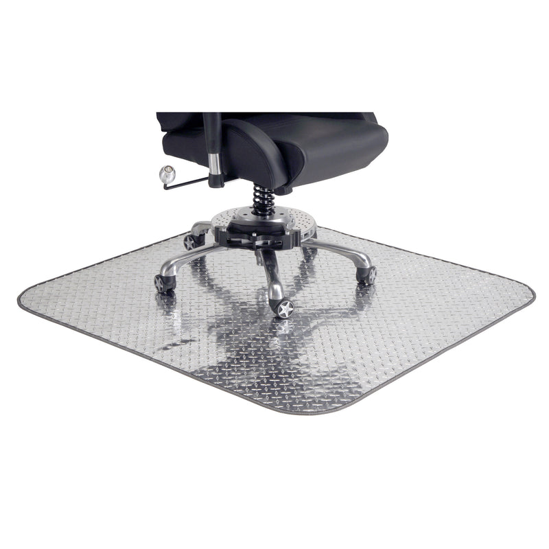 "PitStop Diamond Plate Chair Mat Size 47"" x 70"""