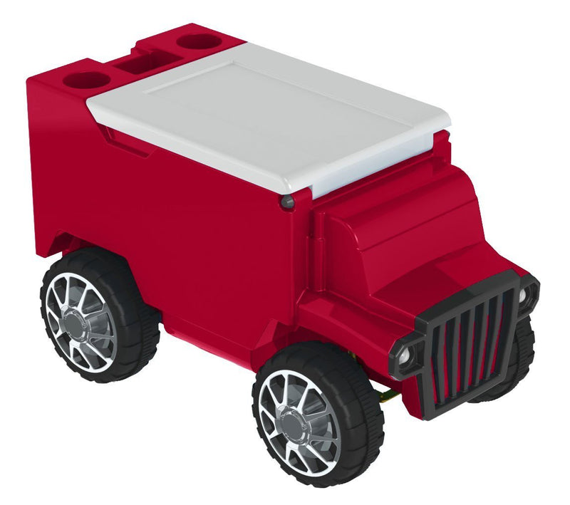 RC Truck Cooler - Red