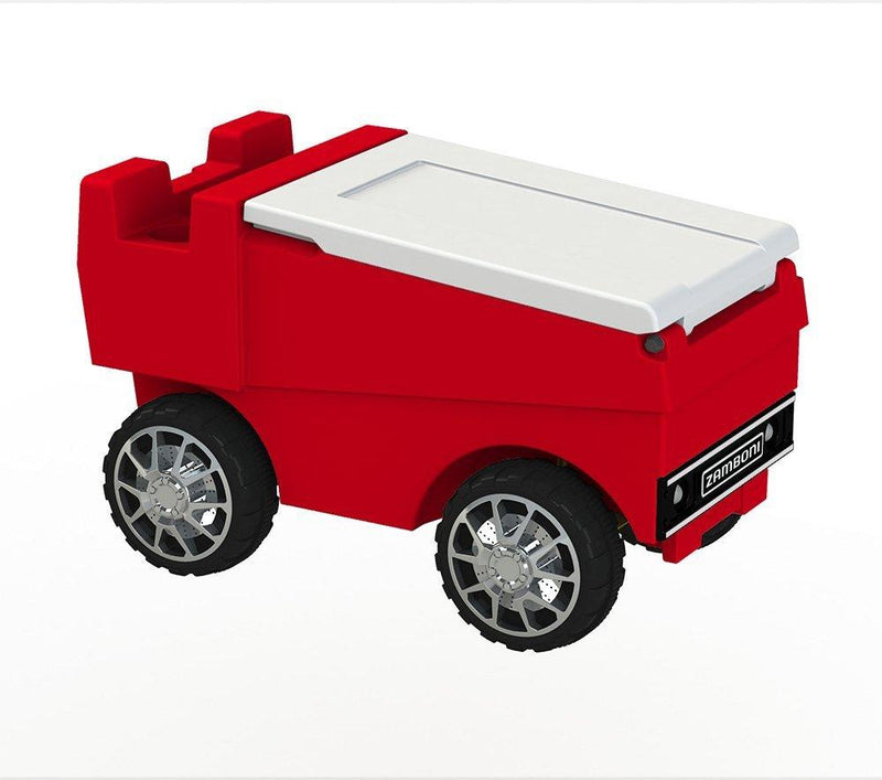 Remote Control Zamboni Cooler - Red