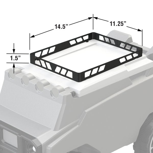 Roof Rack for Rovers - Black