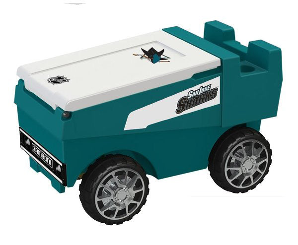 San Jose Sharks Remote Control NHL Zamboni Cooler