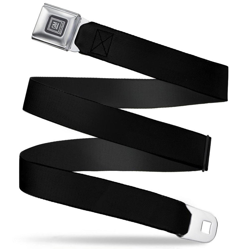Seatbelt Belt - GM - Black Webbing