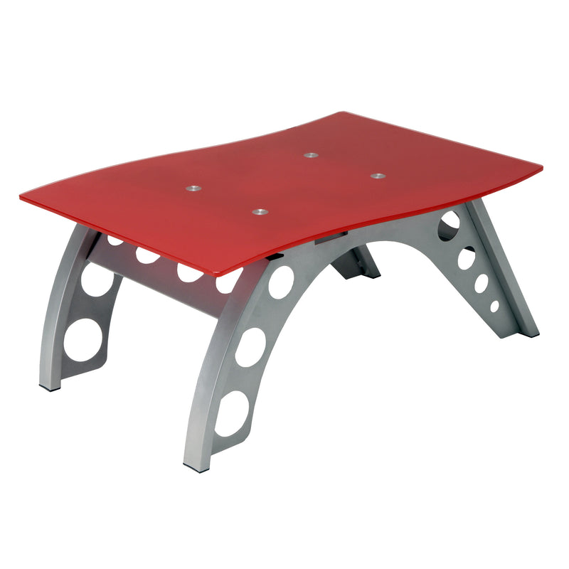 PitStop Chicane Side Table RED
