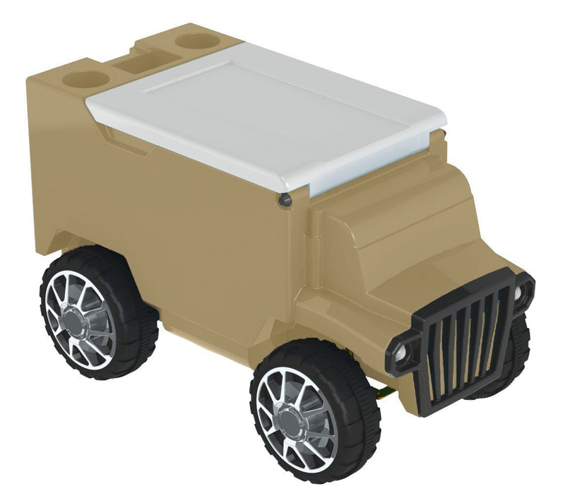 Remote Control Truck Cooler - Tan