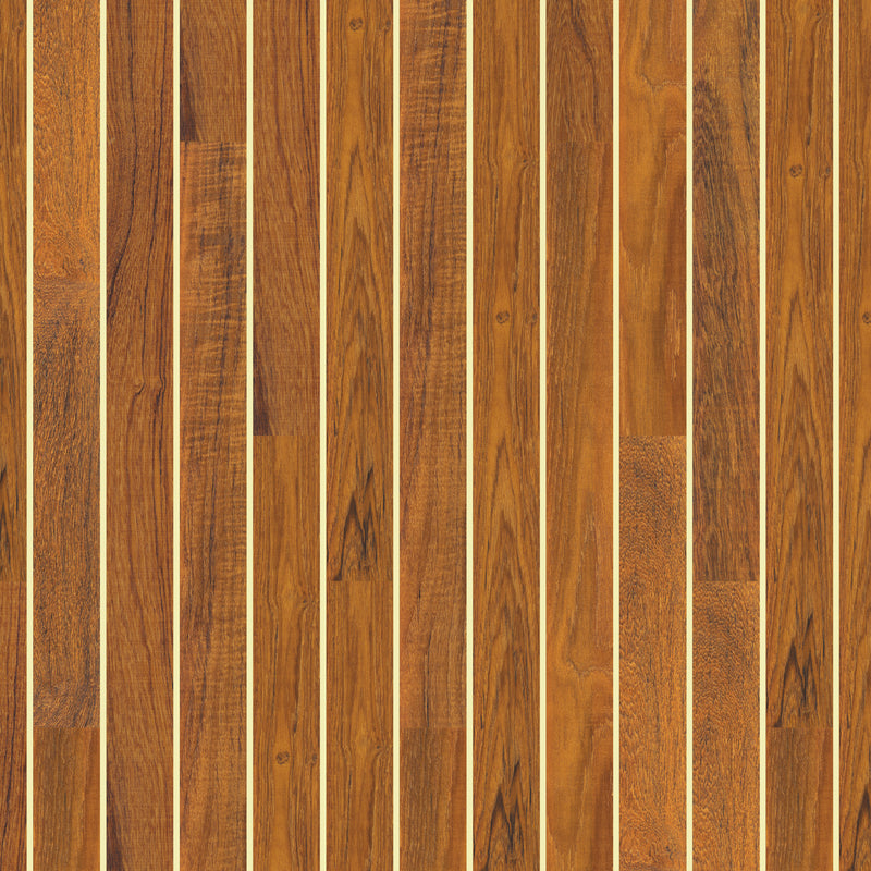 AquaTread: Teak & Holly Slanted - Lines