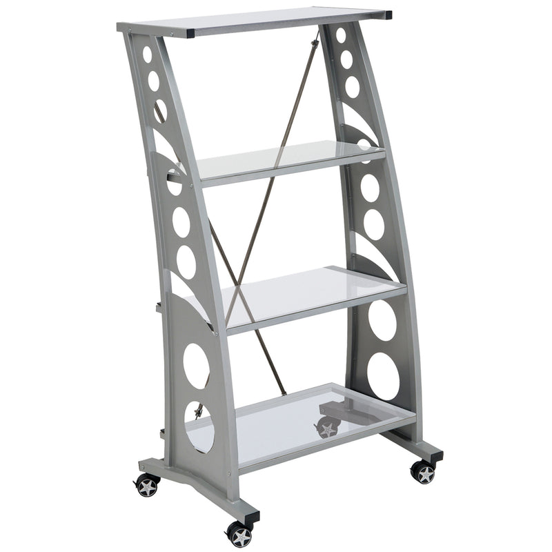PitStop Chicane Bookshelf CLEAR