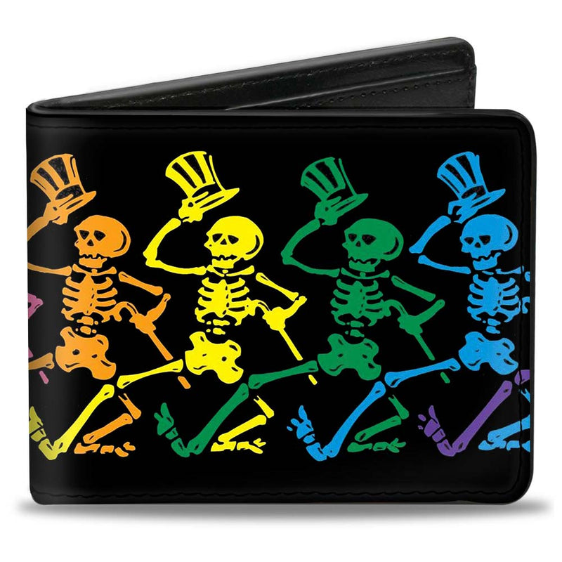Dancing Skeletons Black/Multi Color
