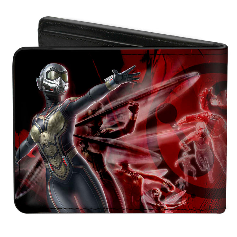 Ant-Man and the Wasp Motion Action Poses Black/Reds/Gold