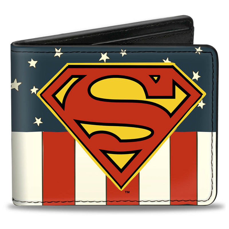 Superman Shield Americana Red/White/Blue/Yellow