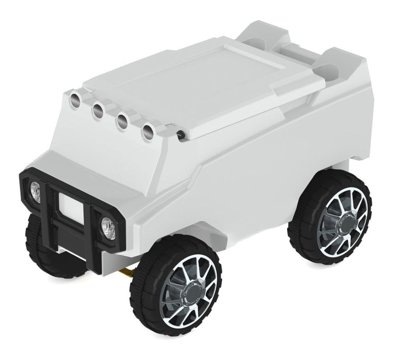 Remote Control Rover Cooler - White